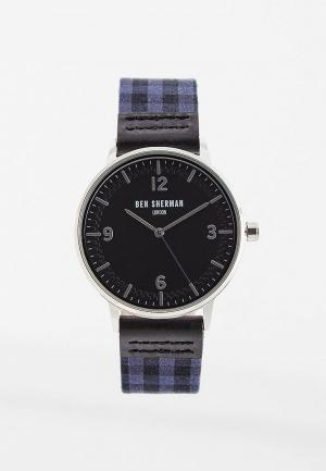 Часы Ben Sherman. Цвет: серый