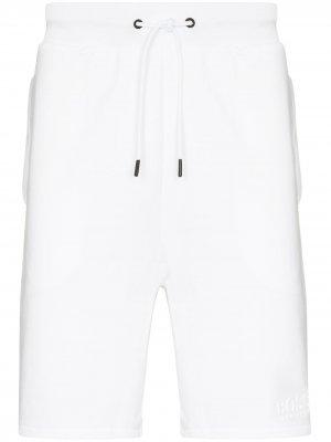 Спортивные шорты Heritage BOSS. Цвет: белый