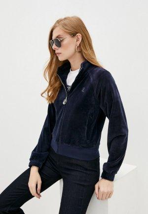 Олимпийка Juicy Couture. Цвет: синий