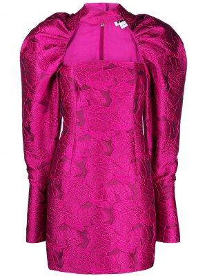 Kaya short dress ROTATE. Цвет: розовый
