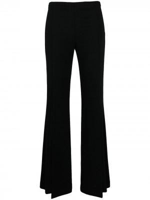 Расклешенные брюки с завышенной талией D.Exterior. Цвет: черный