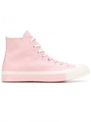 Chuck Taylor high-top sneakers Converse. Цвет: розовый