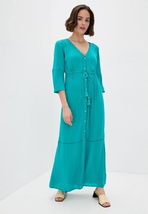 Платье пляжное Marks & Spencer. Цвет: зеленый