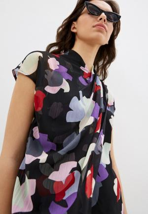 Блуза Emporio Armani. Цвет: черный