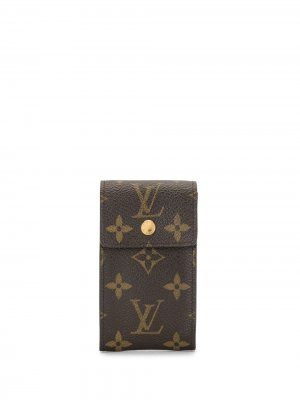Ключница 2007-го года с монограммой pre-owned Louis Vuitton. Цвет: коричневый