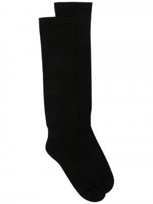 Носки с логотипом Rick Owens. Цвет: черный