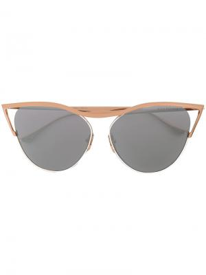 Солнцезащитные очки Revoir Dita Eyewear. Цвет: золотистый