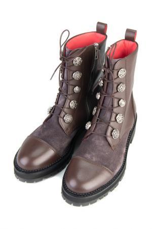 Ботинки PERTINI. Цвет: коричневый