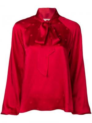 Блузка Betty Temperley London. Цвет: красный