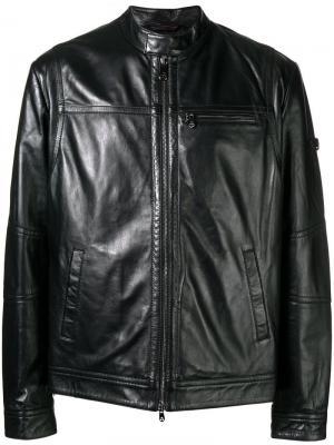 Куртка с круглым вырезом Peuterey. Цвет: черный