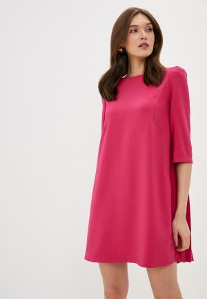 Платье Rinascimento. Цвет: розовый