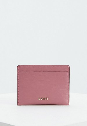 Визитница DKNY. Цвет: розовый