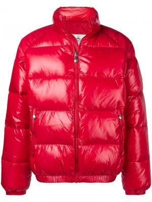 Puffer coat Pyrenex. Цвет: красный