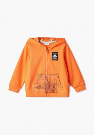 Толстовка Anta. Цвет: оранжевый