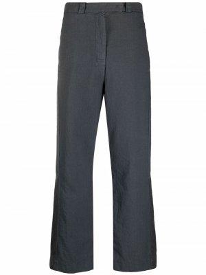 Прямые брюки средней посадки Kristensen Du Nord. Цвет: серый