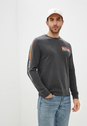 Лонгслив Tommy Jeans. Цвет: серый