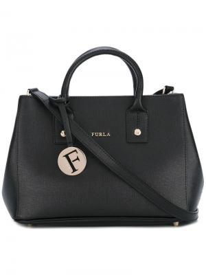 Мини-сумка через плечо Linda Furla. Цвет: чёрный