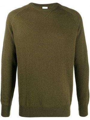 Джемпер с рукавами реглан Aspesi. Цвет: зеленый