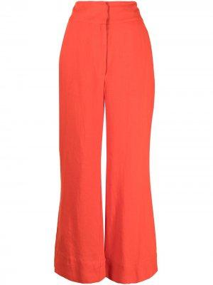 Широкие брюки Linea BONDI BORN. Цвет: красный