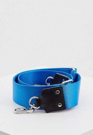 Ремень для сумки Karl Lagerfeld. Цвет: синий