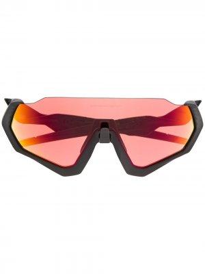 Солнцезащитные очки Flight Jacket Oakley. Цвет: черный