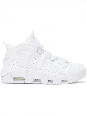 Кроссовки Air More Uptempo 96 Nike. Цвет: белый