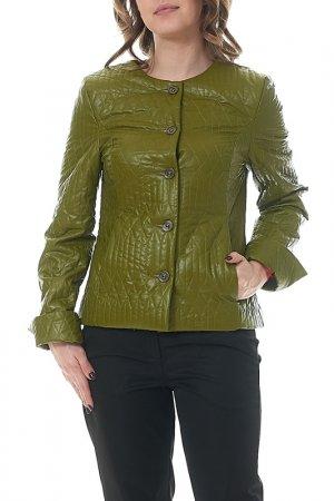 Куртка MANNON. Цвет: зеленый