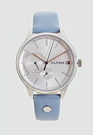 Часы Tommy Hilfiger. Цвет: голубой