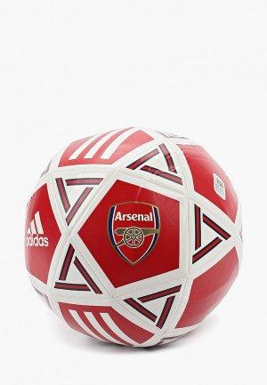 Мяч футбольный adidas. Цвет: красный