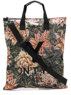 Дорожная сумка Aop Y-3. Цвет: черный