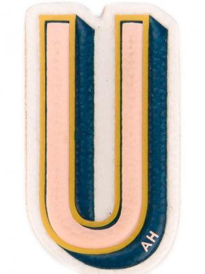 Наклейка U Anya Hindmarch. Цвет: разноцветный