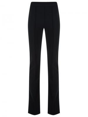 Расклешенные брюки Gloria Coelho. Цвет: черный