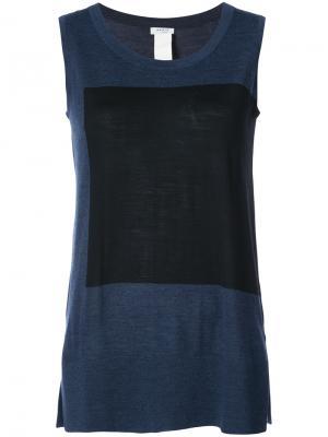 Блузка Akris Punto. Цвет: синий