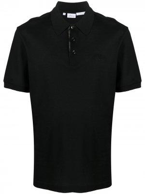 Рубашка поло Brioni. Цвет: черный