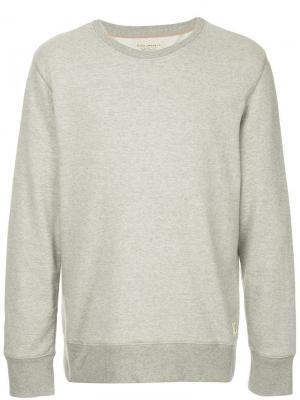 Толстовка свободного кроя Nudie Jeans Co. Цвет: серый