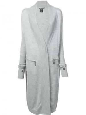 Lucid coat Thomas Wylde. Цвет: серый