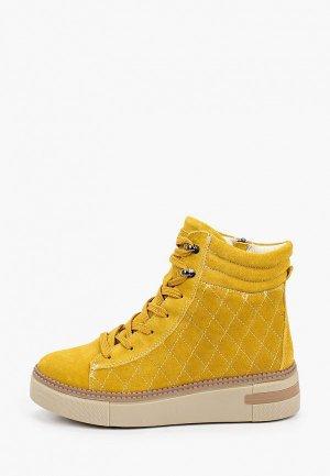 Ботинки La Grandezza. Цвет: желтый