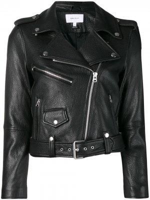 Байкерская куртка Current/Elliott. Цвет: черный