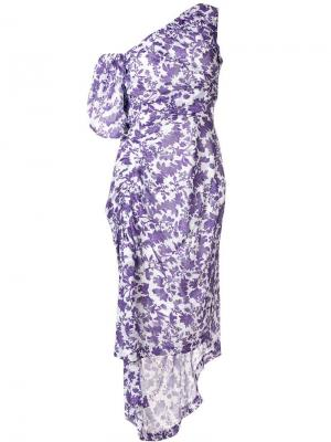 Платье Nicole Preen By Thornton Bregazzi. Цвет: розовый