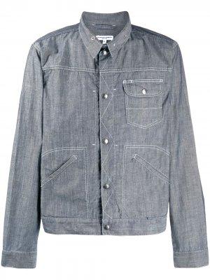 Джинсовая рубашка с длинными рукавами Engineered Garments. Цвет: синий