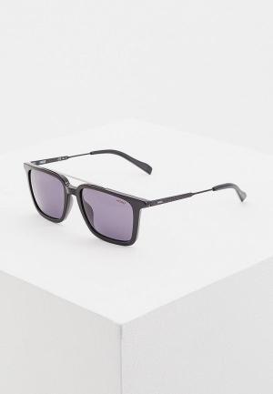 Очки солнцезащитные Hugo Boss. Цвет: черный