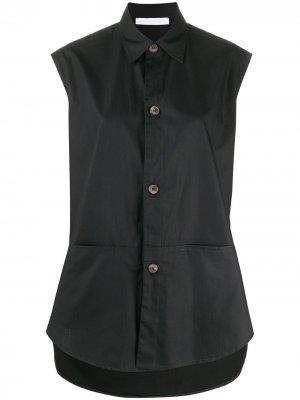 Блузка на пуговицах без рукавов Société Anonyme. Цвет: черный