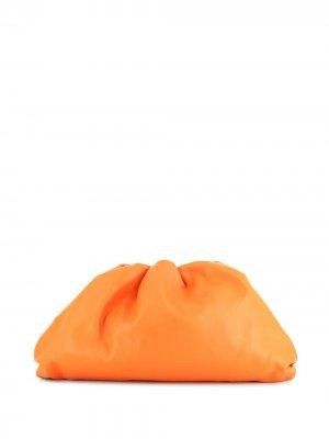 Клатч  Pouch Bottega Veneta Pre-Owned. Цвет: оранжевый