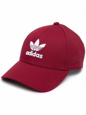 Бейсболка Trefoil adidas. Цвет: красный