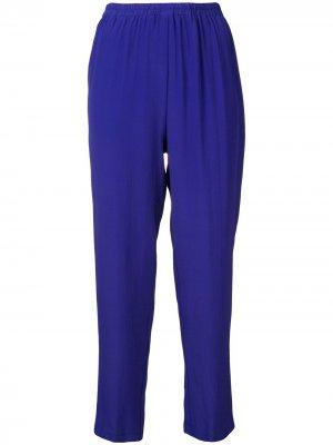 Зауженные брюки Pierantoniogaspari. Цвет: синий