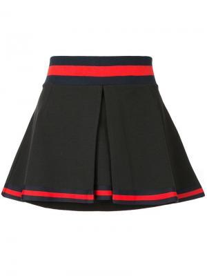Теннисная юбка The Upside. Цвет: черный