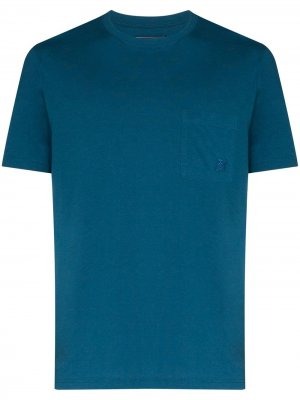 Футболка Titan Vilebrequin. Цвет: синий