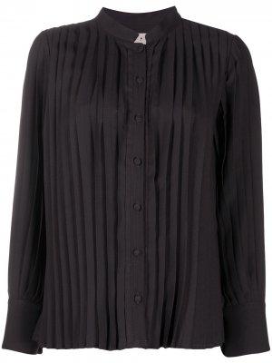 LAutre Chose плиссированная блузка L'Autre. Цвет: коричневый