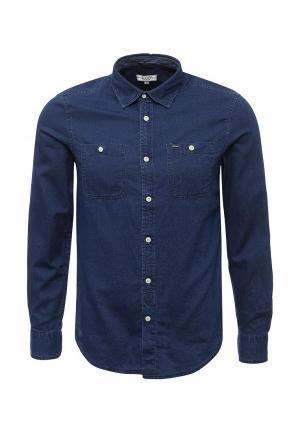 Рубашка джинсовая Alcott. Цвет: синий