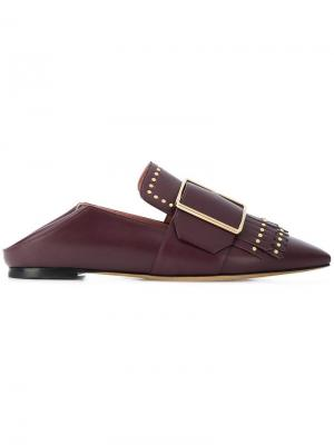 Hamelia flat loafers Bally. Цвет: розовый